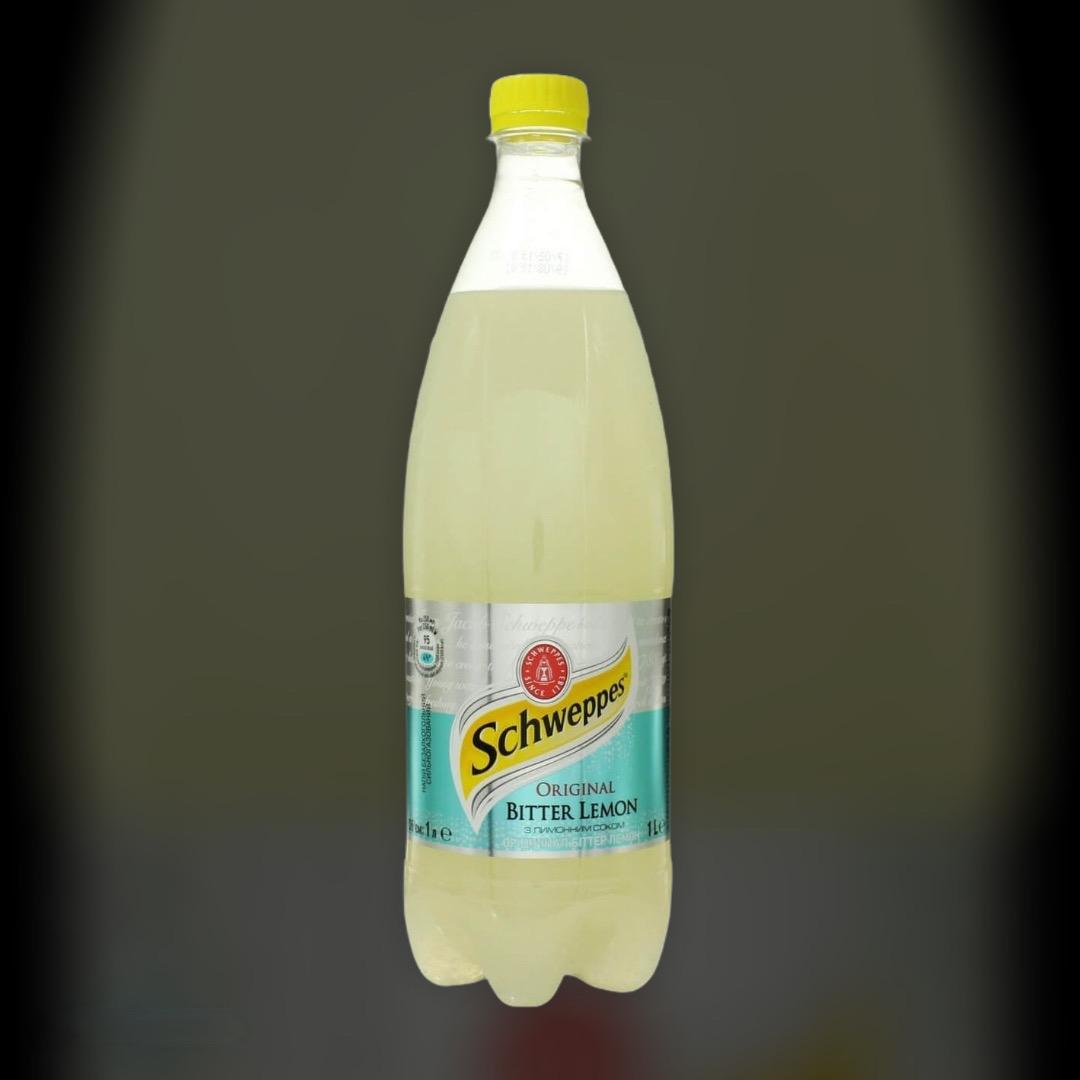 Безалкогольный напиток Schweppes Original Bitter Lemon 1 л
