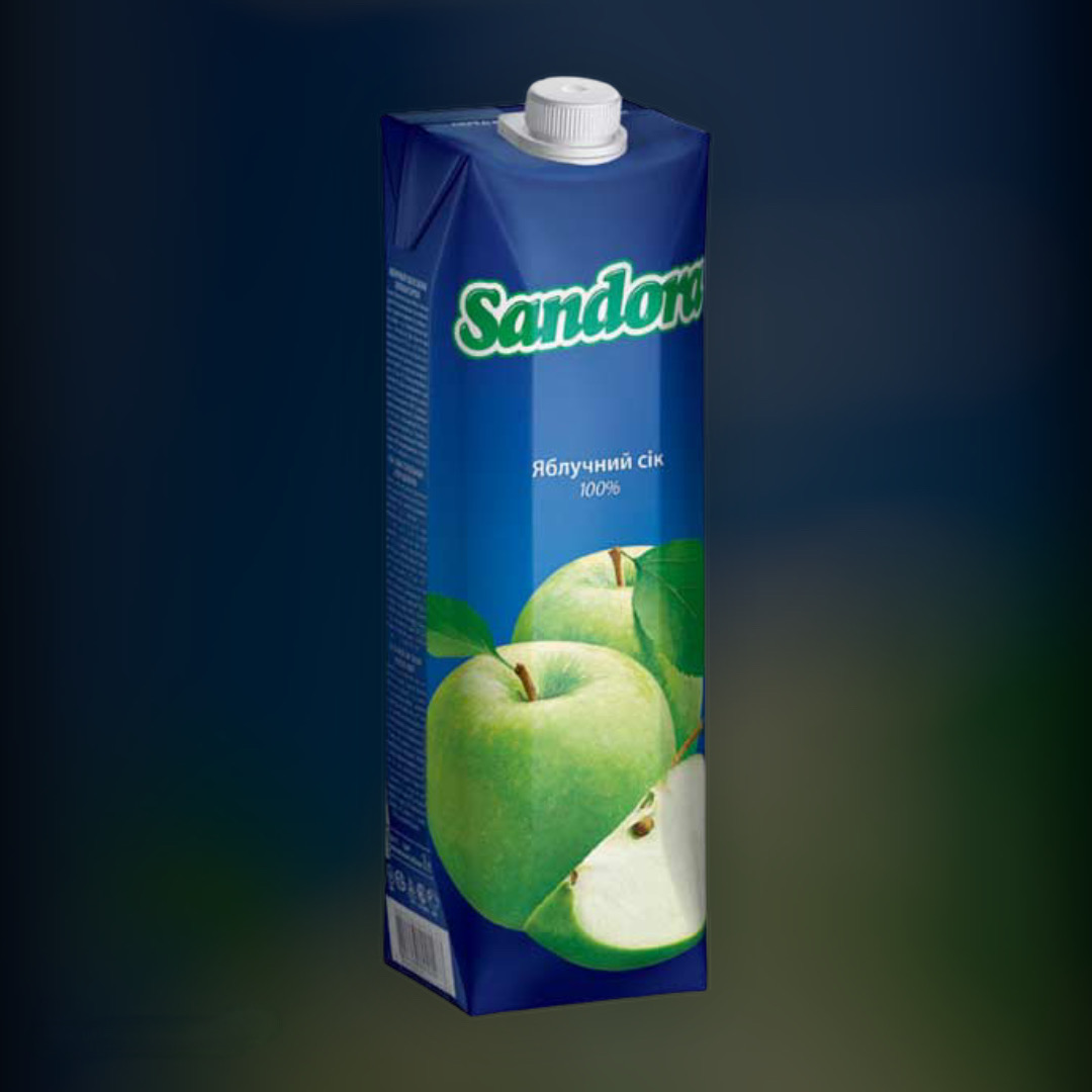 Сок Sandora яблочный 0,95 л