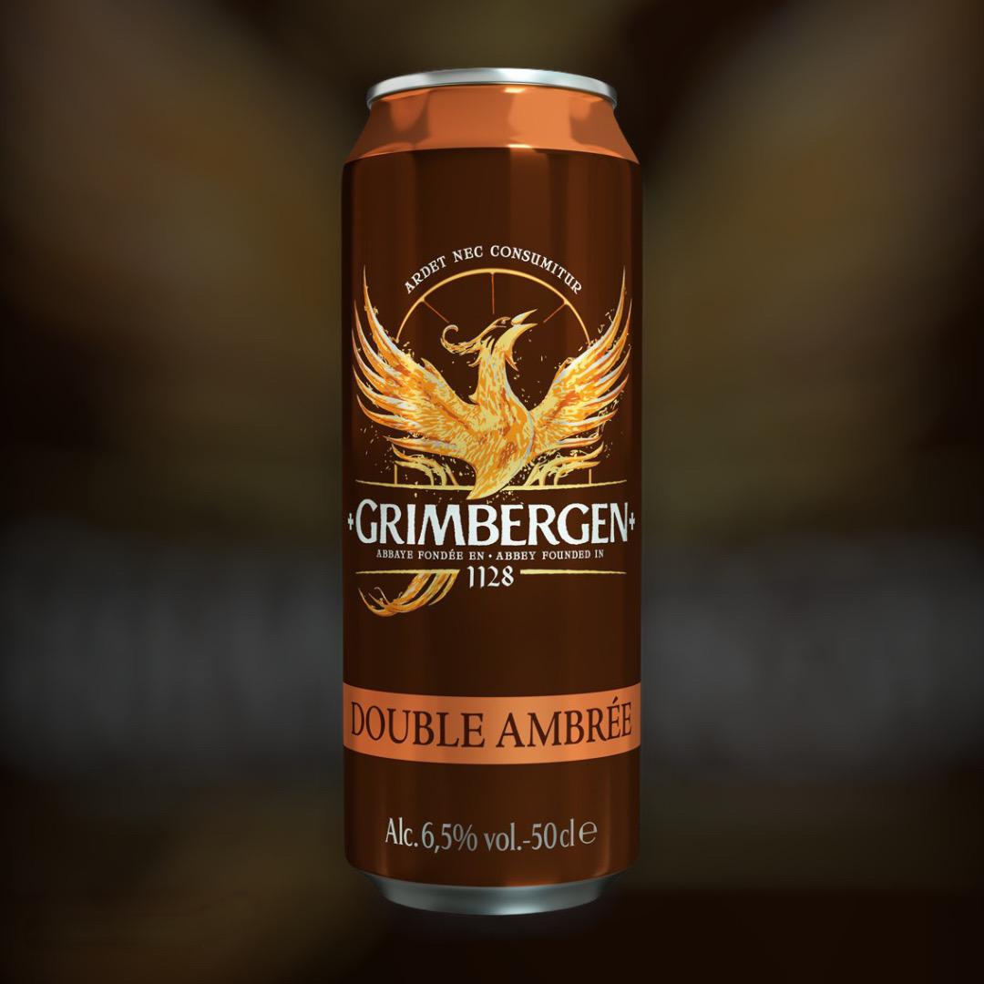 Доставка пива Grimbergen Double Ambree ночью в Киеве
