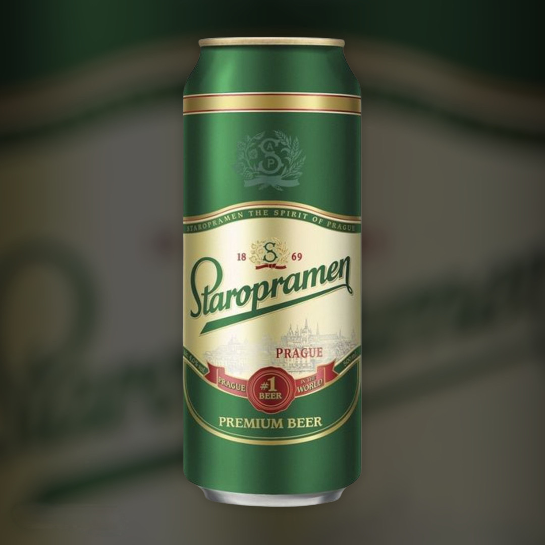 Доставка пива Staropramen ночью по Киеву