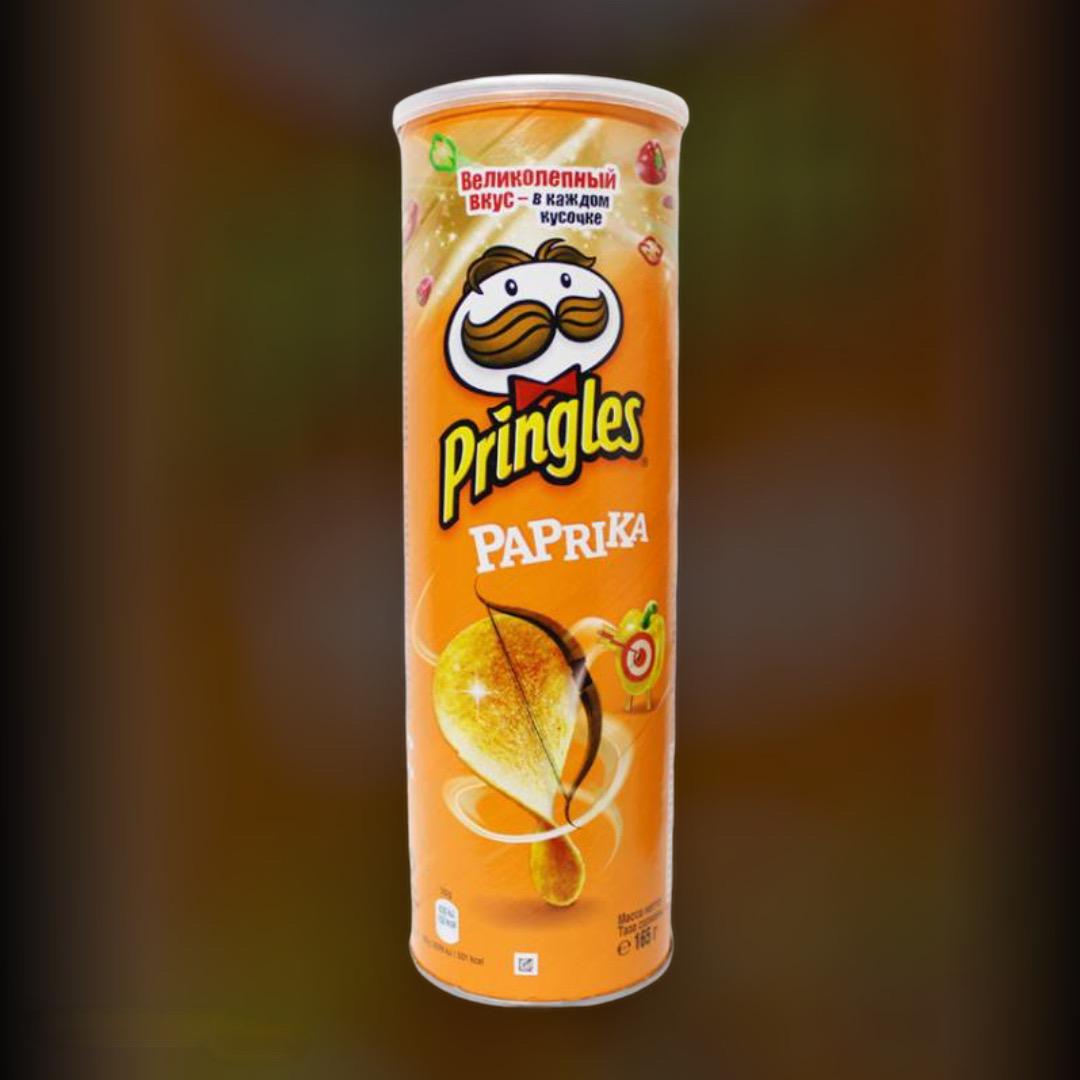 Чипсы Pringles Paprika 165 г