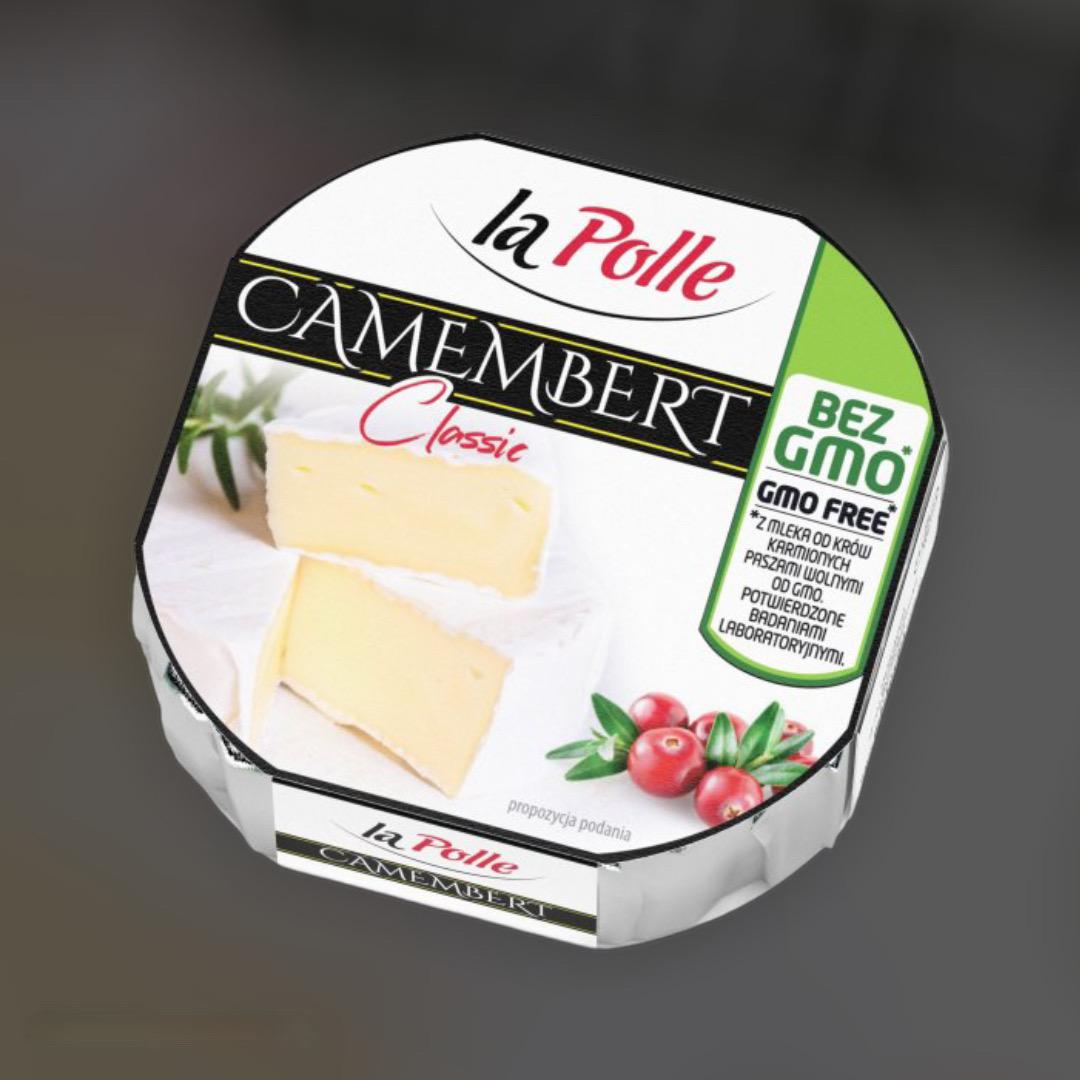 Сыр La Polle Mlekovita Camembert Classic - Камембер 120