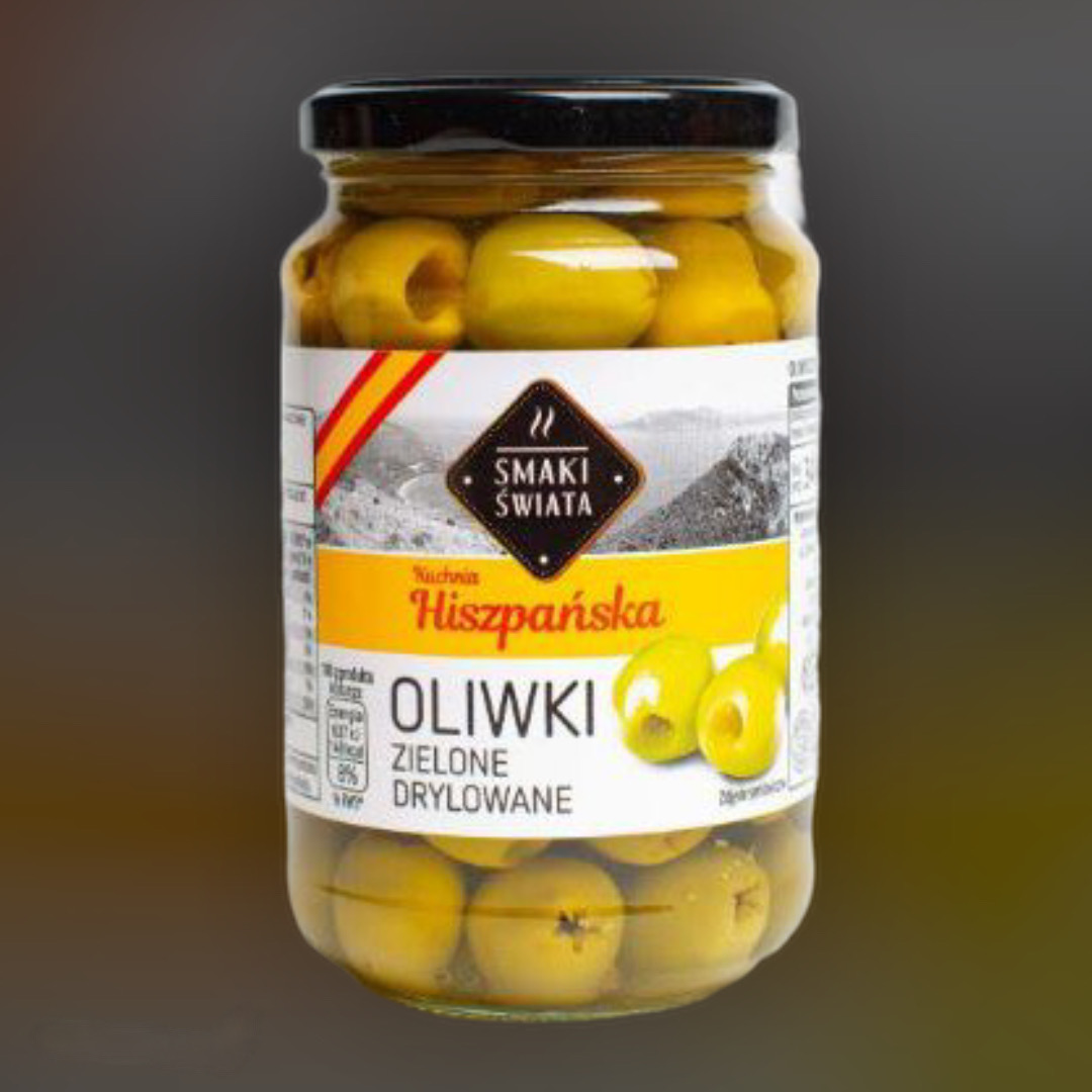 Оливки без косточки Smaki Swiata зеленые  340 г