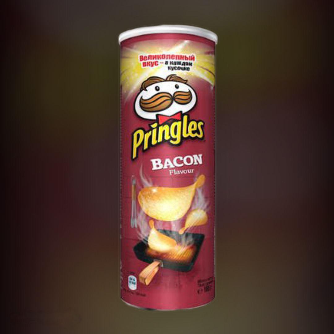 Чипсы Pringles Бекон 165 г