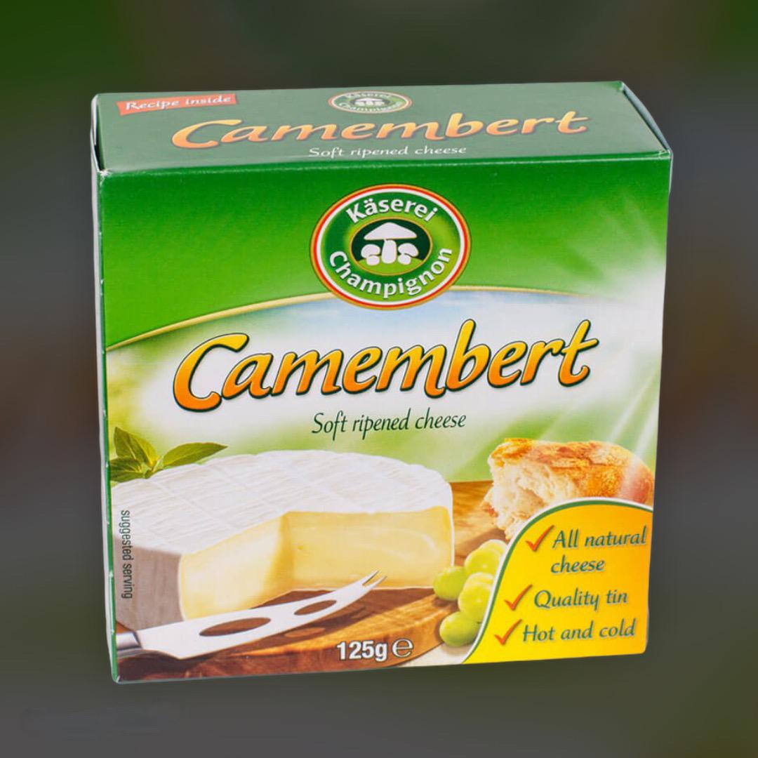 Сыр Kaserei Champignon Камамбер Германия 125 г