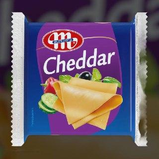 Сыр плавленый Чеддер Польша 130 гр