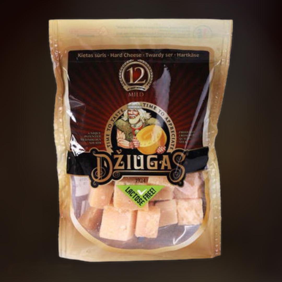 Сыр твердый Dziugas Литва 100 гр