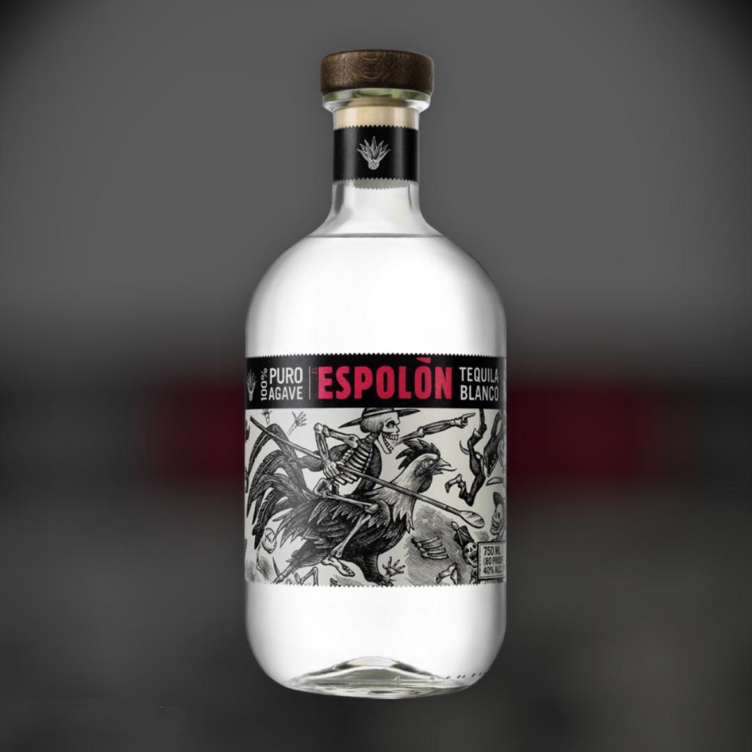 Текила Espolon Blanco 40% 0,75 л