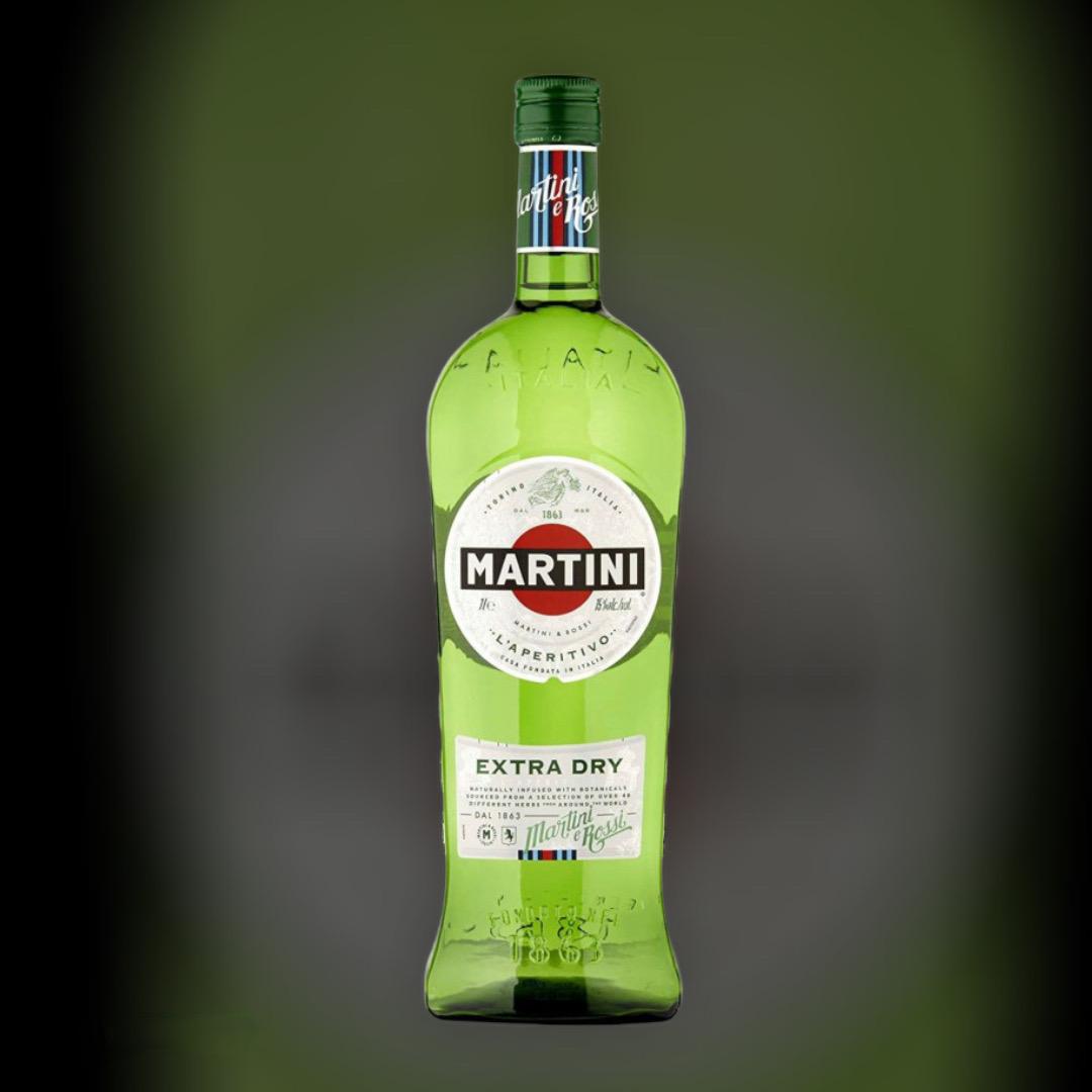 Вермут Martini Extra Dry, белое сухое 18% 0,5 л