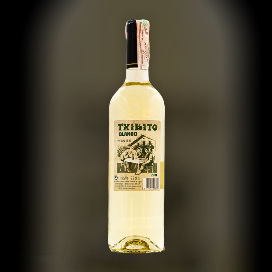 Вино TxikitoЛирен белое сухое 11,5% Испания 0,75 л
