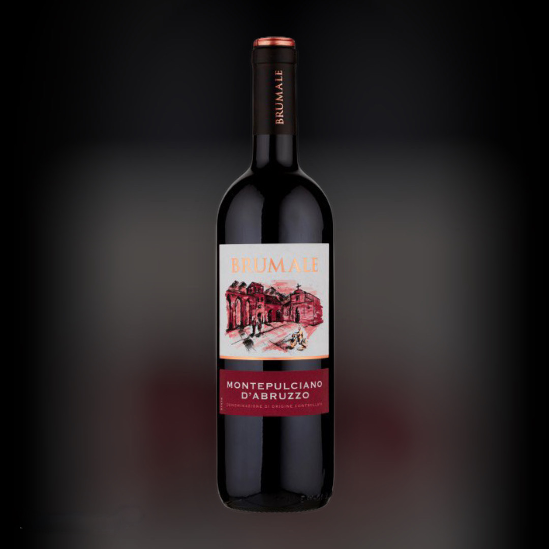 Вино Brumale Монтепульчано дАбруццо красное сухое 13% Италия 0,75 л