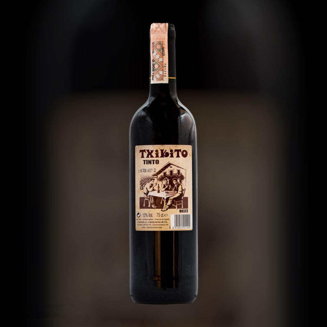 Вино Txikito Тинто красное сухое 12% Испания 0,75 л