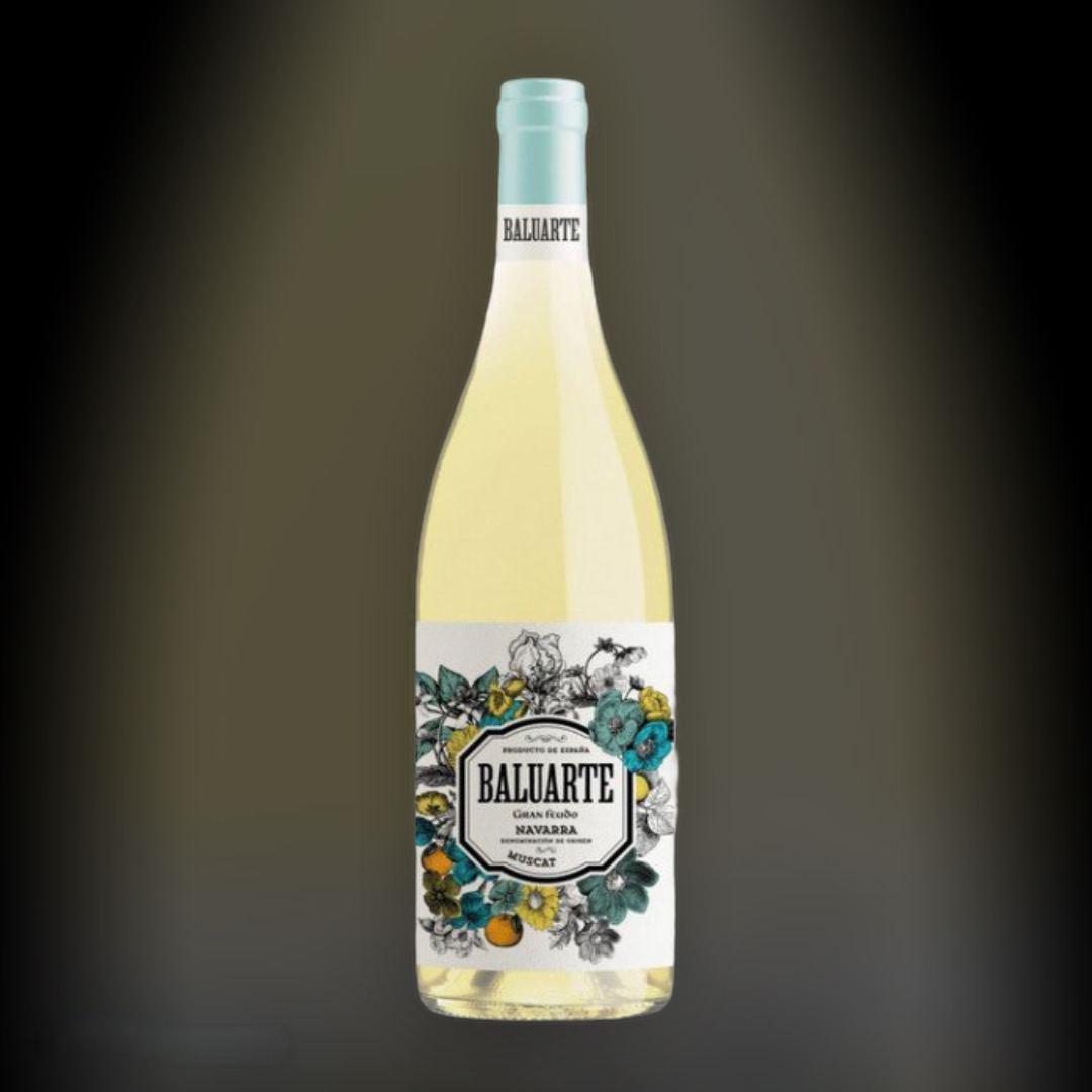 Вино Baluarte Muscat белое полусухое 13% Испания 0,75 л
