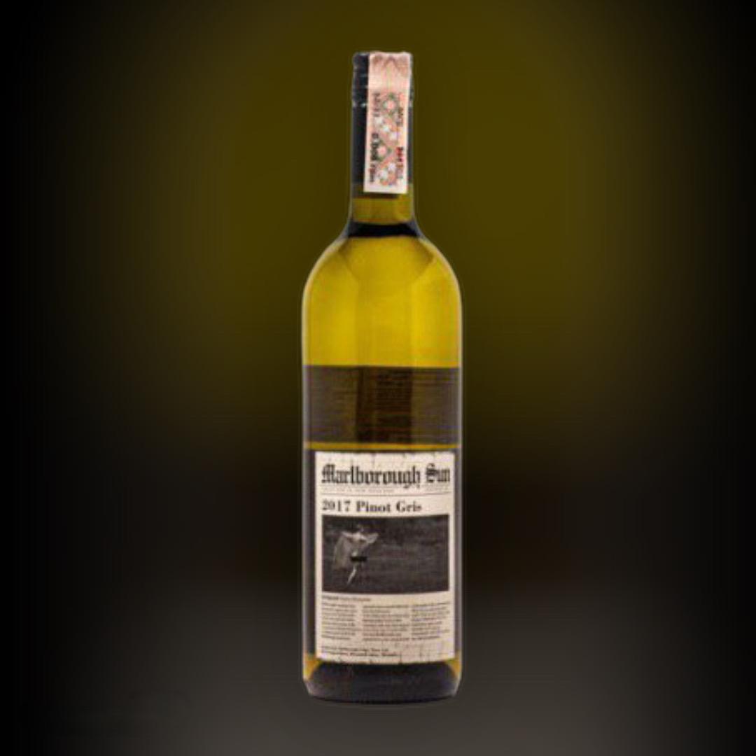 Вино Marlborough Sun Pinot Cris 2017 белое сухое 13% Новая Зеландия 0,75 л
