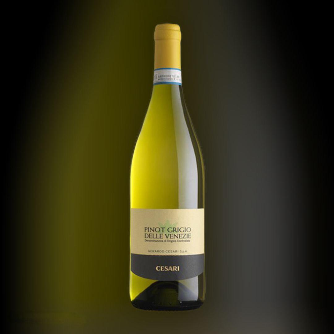 Вино Cesari PINOT GRIGIO  Delle Venezie IGT белое сухое 12,5% Италия 0.75 л