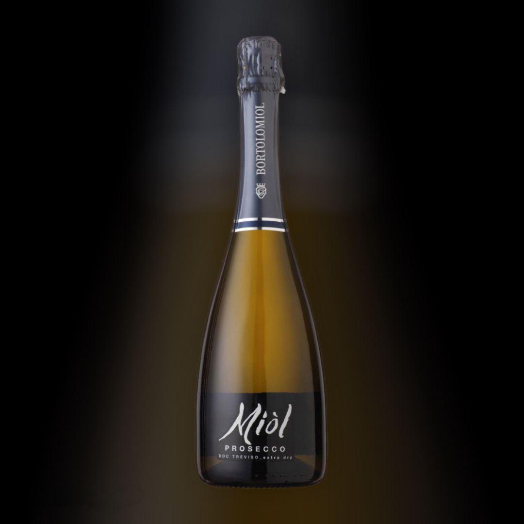 Доставка вина Prosecco Extra Dry Miol круглосуточно по Киеву