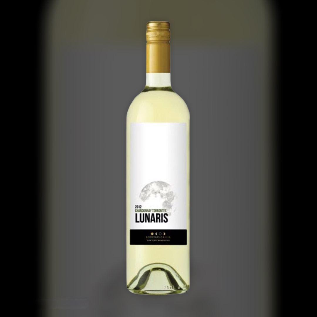 Вино Lunaris Callia Chardonnay Torrontes белое сухое 13% 0,75 л