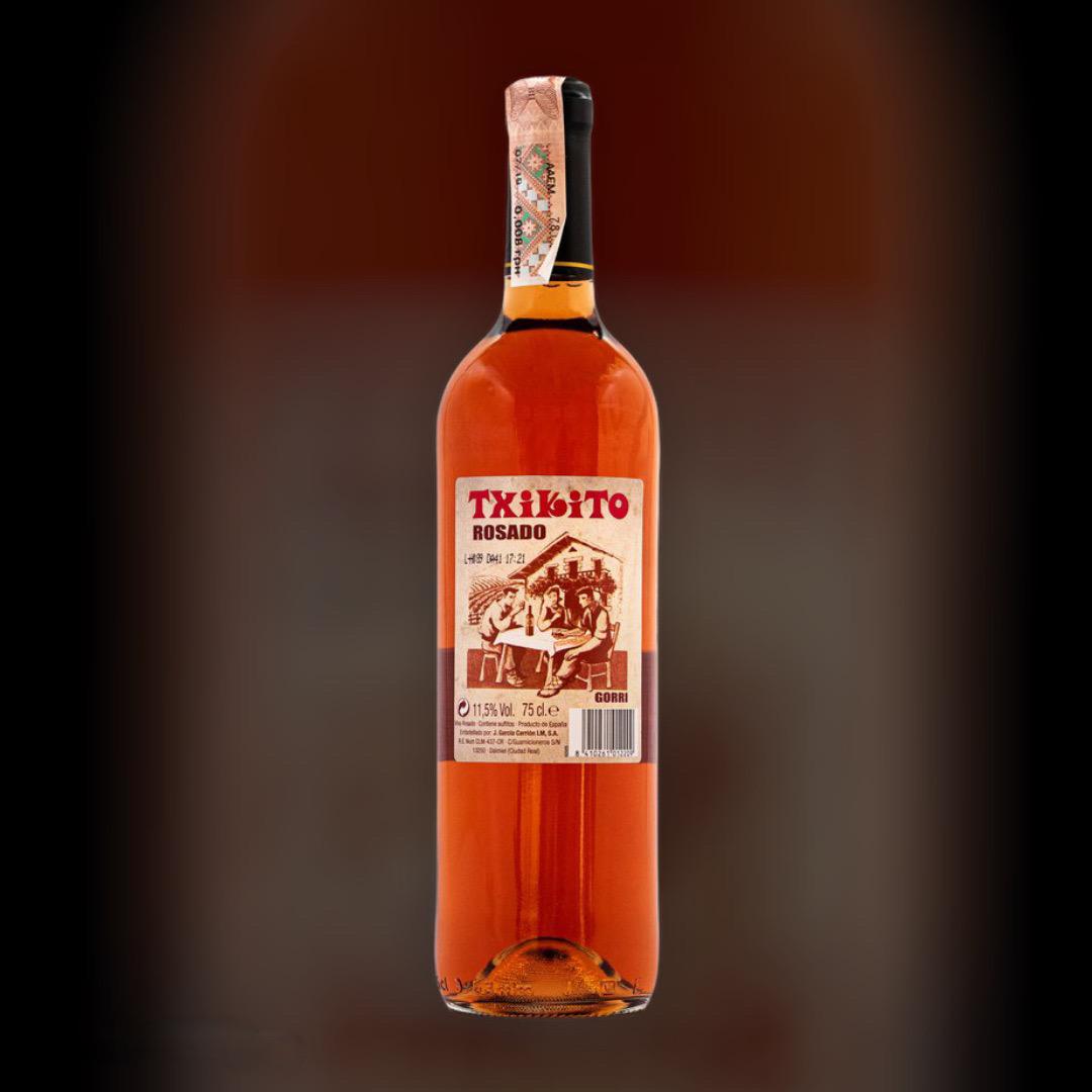 Доставка вина Txikito Rose круглосуточно по Киеву