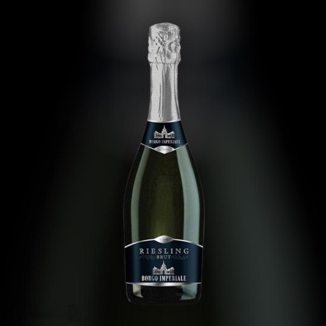 Вино игристое Borgo Imperiale Riesling Doc белое сухое 11.5% 0,75 л
