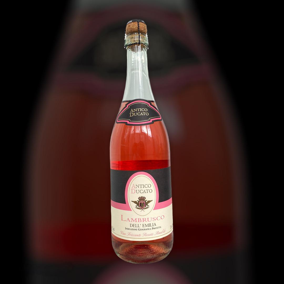 Игристое Antico Ducato Lambrusco dell Emilia Rosato розовое полусладкое 7,5% Италия 0,75 л