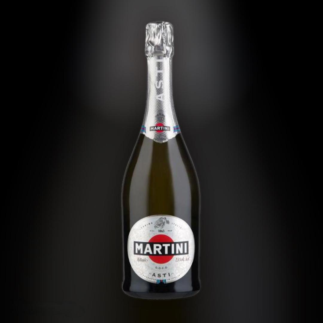 Вино игристое Martini Asti белое полусладкое 7,5% 0,75 л