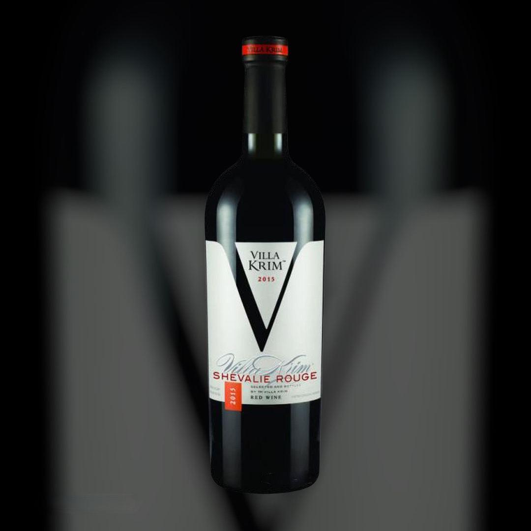 Вино Villa Krim Шевалье Руж красное полусладкое 13% Украина 0,75 л
