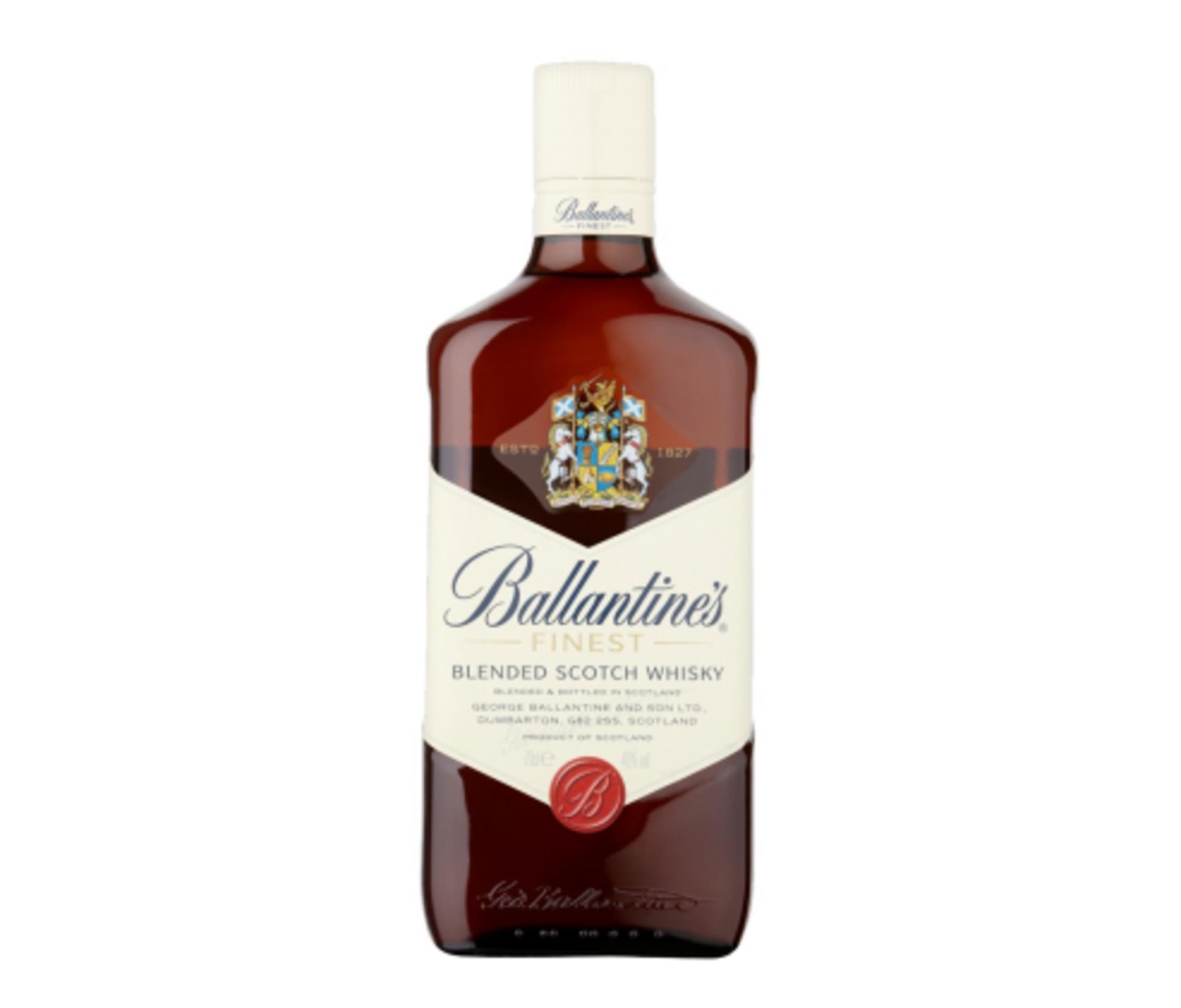 Виски Ballantines Finest заказать с доставкой ночью в Киеве