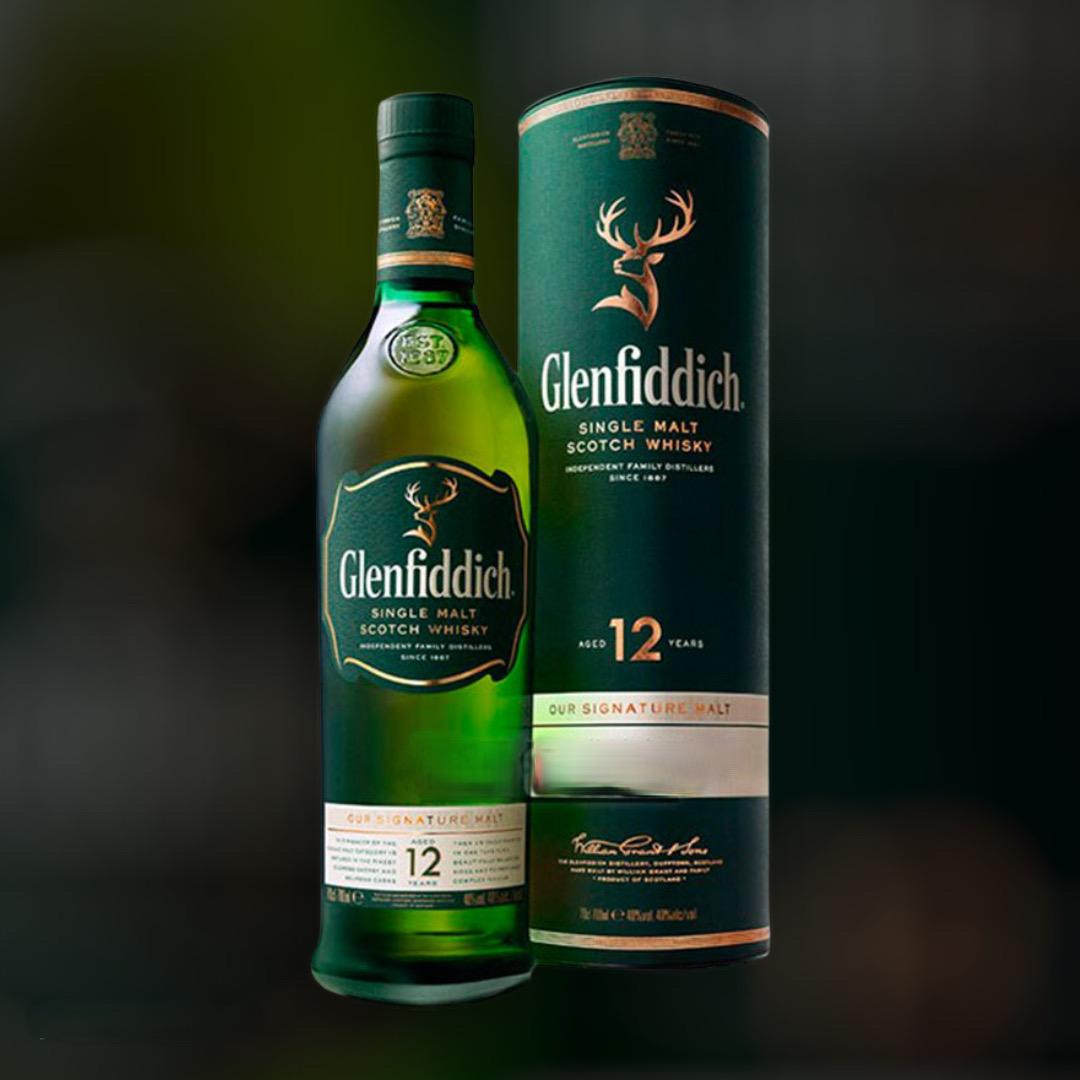 Виски Glenfiddich 12 лет выдержки заказать с доставкой ночью в Киеве