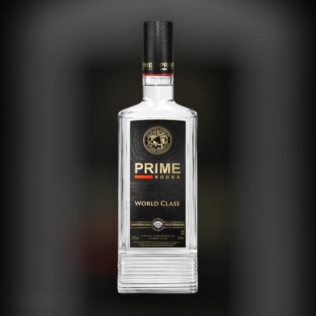 Водка Prime World Class 40%  0,5 л