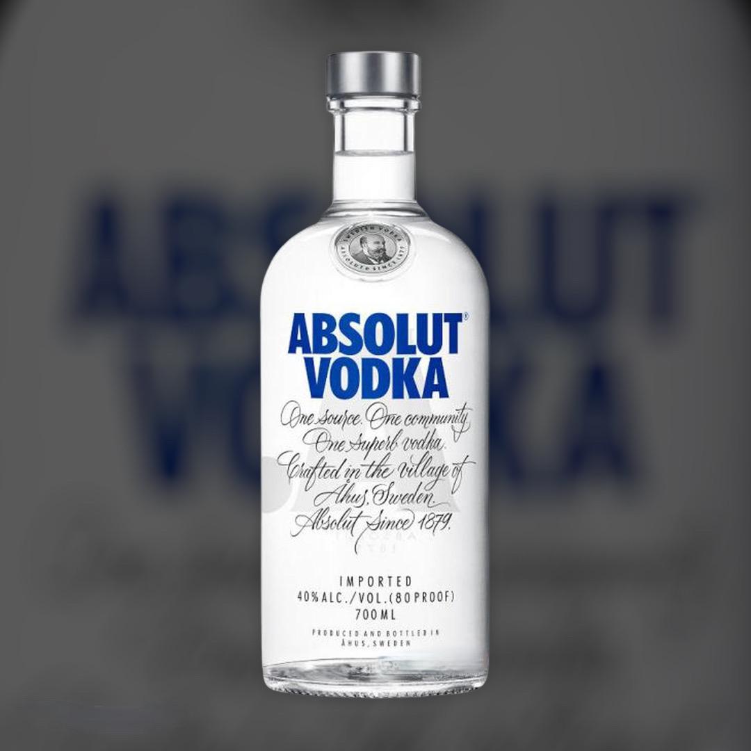 Водка Absolut 40% 0,7 л